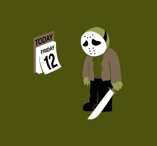 Jason, triste car c'est le vendredi ... 12